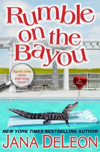 Rumble on the Bayou Book
