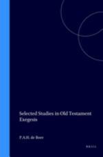 Selected Studies in Old Testament Exegesis