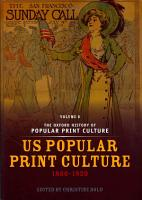 The Oxford History of Popular Print Culture PDF