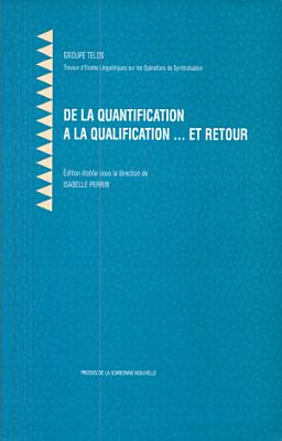 De la quantification    la quelification   et retour PDF