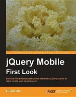 JQuery Mobile First Look PDF
