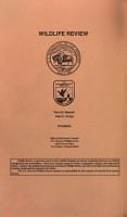 Wildlife Review PDF