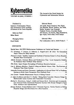 Kybernetika PDF
