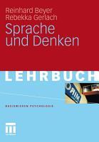 Sprache und Denken PDF