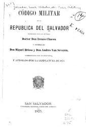 Código militar de la republica del Salvador