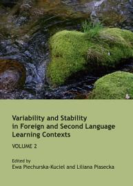 Variability and Stability in Foreign and Second Language Learning Contexts PDF