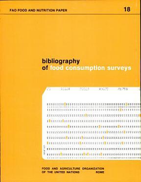 Bibliography of Food Consumption Surveys PDF