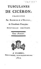 Tusculanes de Cicéron: Volume1