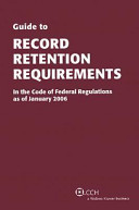 Guide to Record Retention Requirements PDF