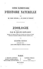 Zoologie: cours élémentaire d'histoire naturelle