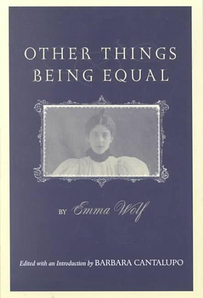 Download Other Things Being Equal Book