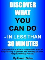 Discover what you can do   in less than 30 minutes PDF
