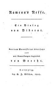 Rameau's Neffe: ein Dialog