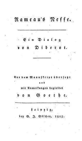 Rameau s Neffe PDF