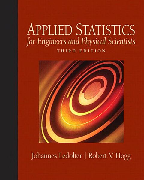 Applied Statistics for Engineers and Physical Scientists Pdf Book