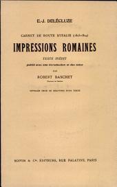 Impressions romaines