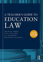 A Teacher s Guide to Education Law PDF