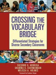 Crossing The Vocabulary Bridge Book PDF