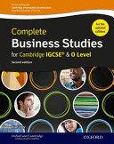 Complete Business Studies for Cambridge IGCSE and O Level PDF