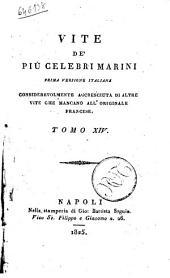Vite de' Piu Celebri Marini Tomo XIV