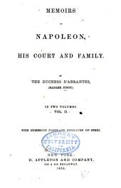 Memoirs of Napoleon, his court and family: Volume 2