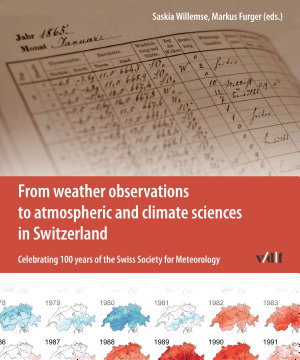 From weather observations to atmospheric and climate sciences in Switzerland