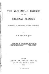 The Alchemical Essence and the Chemical Element: An Episode in the Quest of the Unchanging