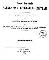Neue jenaische allgemeine Literatur zeitung PDF