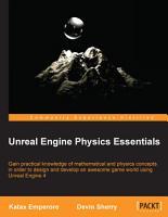 Unreal Engine Physics Essentials PDF