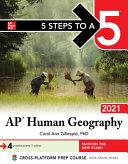 5 Steps To A 5 Ap Human Geography 2021 Book PDF