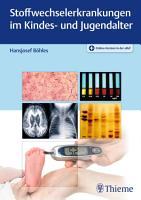 Stoffwechselerkrankungen im Kindes  und Jugendalter PDF