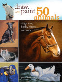 Draw And Paint 50 Animals Book PDF