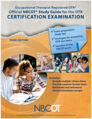 Official NBCOT   Study Guide for the OTR   Certification Examination