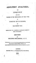 Adultery Analyzed Book PDF