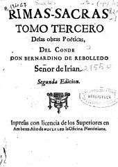 Rimas-Sacras: tomo Tercero Delas obras poeticas