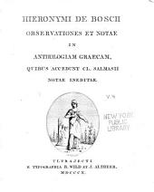Anthologia Graeca cum versione Latina Hugonis Grotii: Volume 4