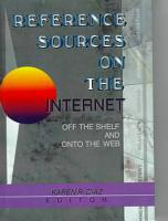 Reference Sources on the Internet PDF