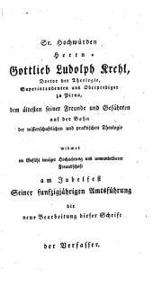 Populäre und praktische Theologie: oder Methodik und Materalien des christlichen Volksunterrichts