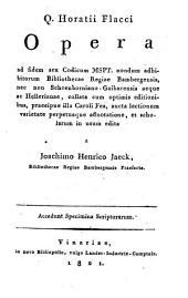 Opera. Vinariae 1821