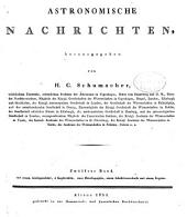 Astronomische Nachrichten: Volumes 12-13