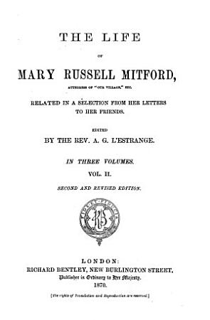 The Life of Mary Russell Mitford     PDF