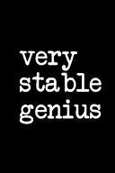 Very Stable Genius Book PDF