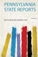 Pennsylvania State Reports PDF