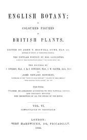 English Botany;: Or, Coloured Figures of British Plants, Volume 6