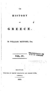 The History of Greece: Volume 4