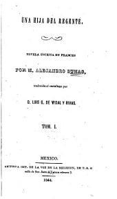 Una hija del regente: novela escrita en frances