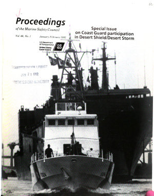 Proceedings of the Marine Safety Council PDF