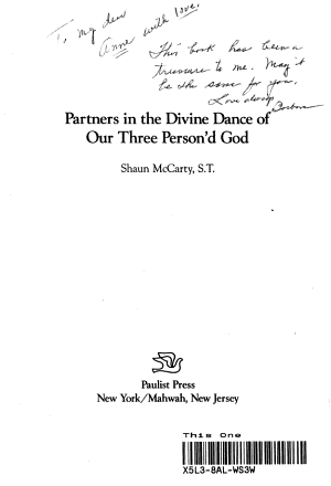 Partners in the Divine Dance of Our Three Person d God PDF