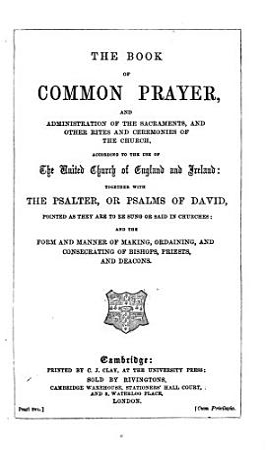 The Prayer Book Interleaved     Fifth Edition PDF