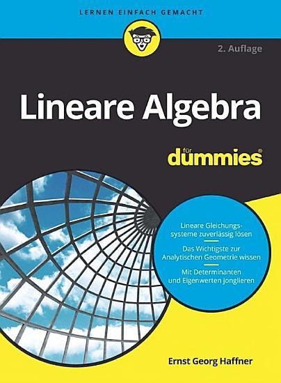 Lineare Algebra f  r Dummies PDF